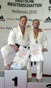 Deutscher Meister M3 bis 100 kg), Preißler (Bronzemedaille M5 bis 60 kg)