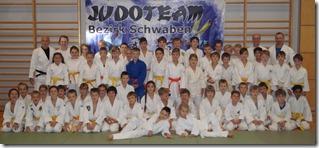 Judo_Gruppenbild Bezirkslehrgang U10 und U12 Waltenhofen - Foto Stefan Günter